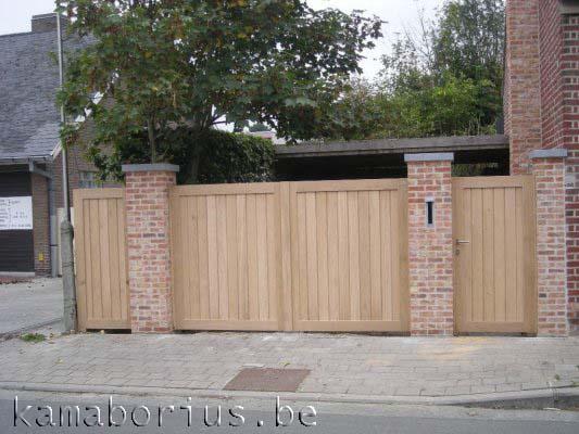 houten poorten Kama Borius